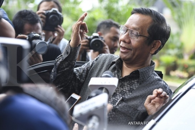 Kembali diancam Andi Arief, Mahfud MD: Biarin dia ngoceh lagi biar sembuh