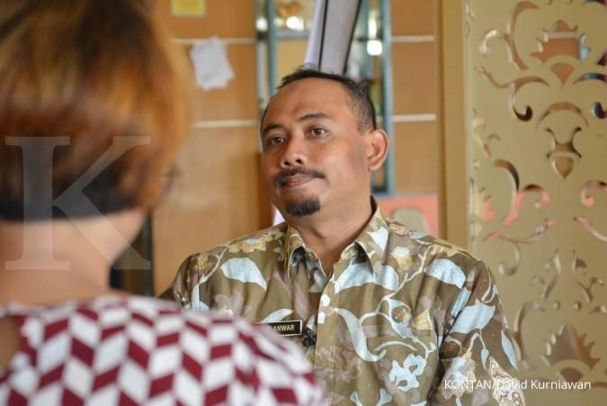Ony Anwar Wakil Bupati Ngawi, Jawa Timur. Jelajah Ekonomi Kontan Trans Jawa