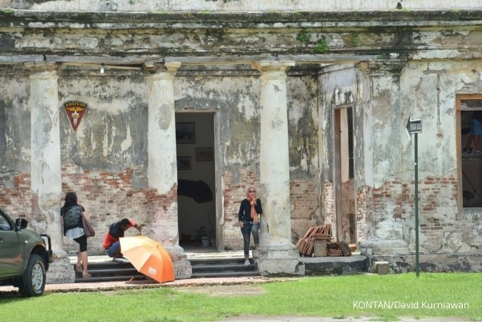 Benteng Van der Bosch di Ngawi. Jelajah Ekonomi Kontan Trans Jawa