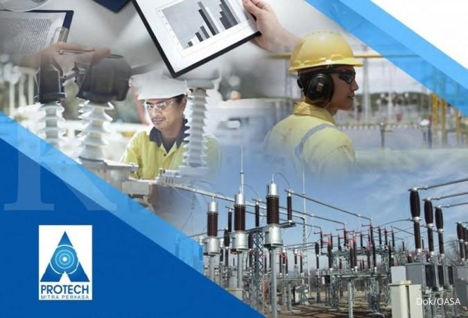 OASA Protech Mitra Perkasa (OASA) lebih selektif cari kontrak baru