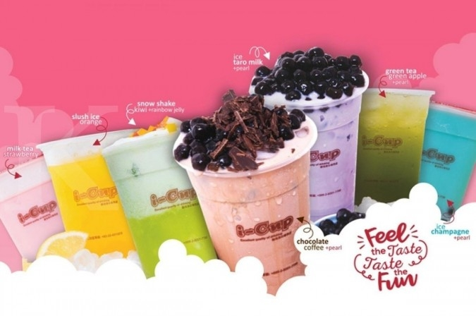 Tawaran waralaba bubble tea dari I-Cup Bubble Tea