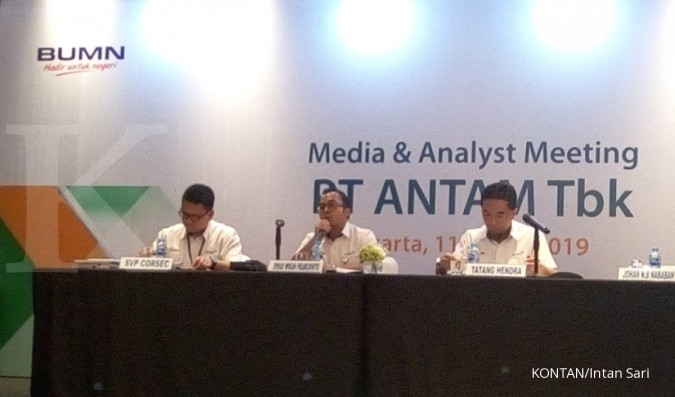 Tahun Lalu, investor Aneka Tambang (ANTM) di pasar modal tumbuh 27,86%