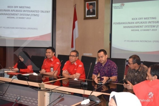 Digitalisasi SDM, Pelabuhan Indonesia I gandeng Telkom Indonesia