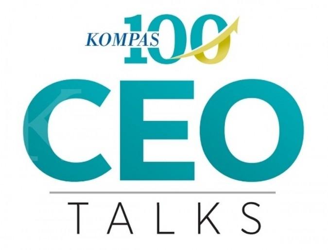Logo CEO Talks Kompas100
