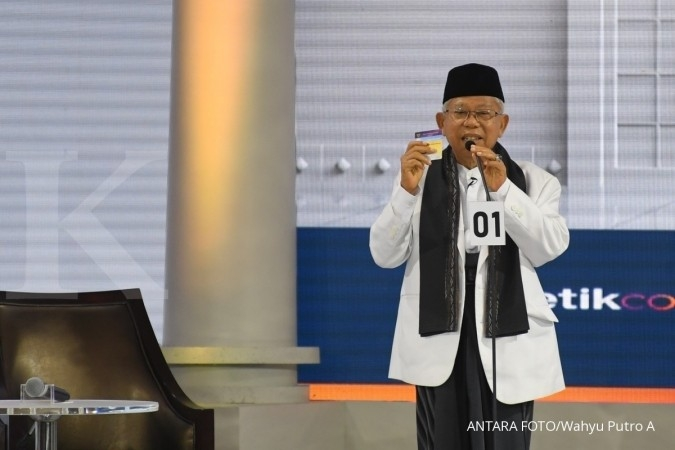 Ma'ruf Amin: Kalau ada orang NU tak pilih kader NU, innalillahi...