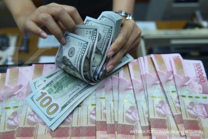 Pasar hati-hati, rupiah ditutup melemah 0,11% menjadi Rp 13.695 per dolar AS