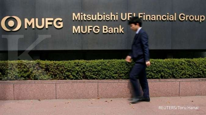 Japan's MUFG says to promote deputy president Kamezawa to CEO