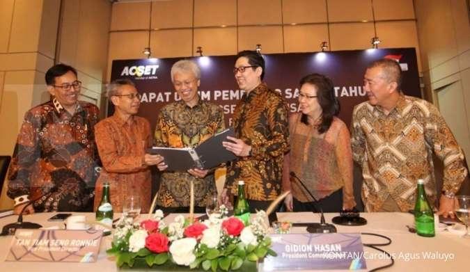 ACST Simak jadwal pembagian dividen Acset Indonusa (ACST)