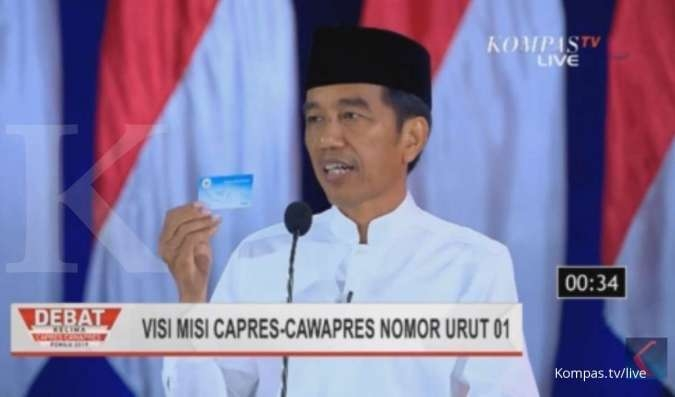 UPDATE real count pilpres KPU (18 Mei, 07.30 WIB) Jokowi 55,85% - Prabowo 44,15%