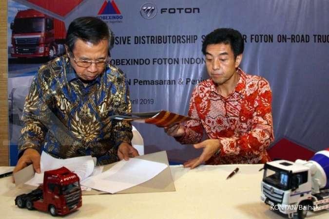Diversifikasi bisnis, Kobexindo (KOBX) pasarkan truk Foton di Indonesia