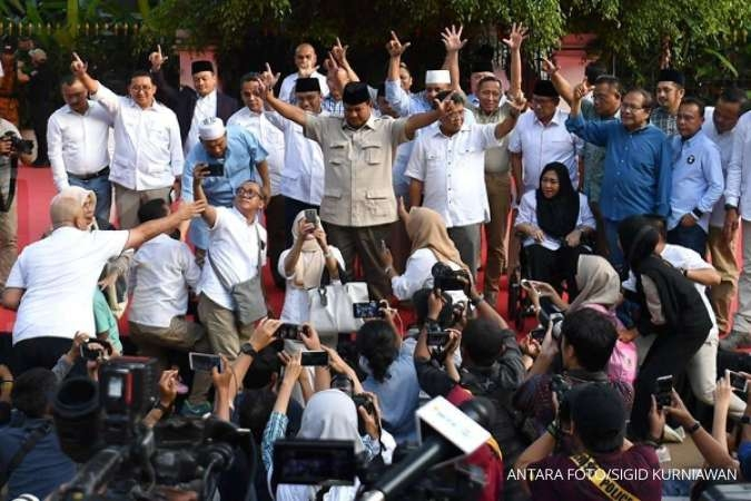 CSIS Cyrus Network menantang kubu Prabowo menampilkan data exit poll