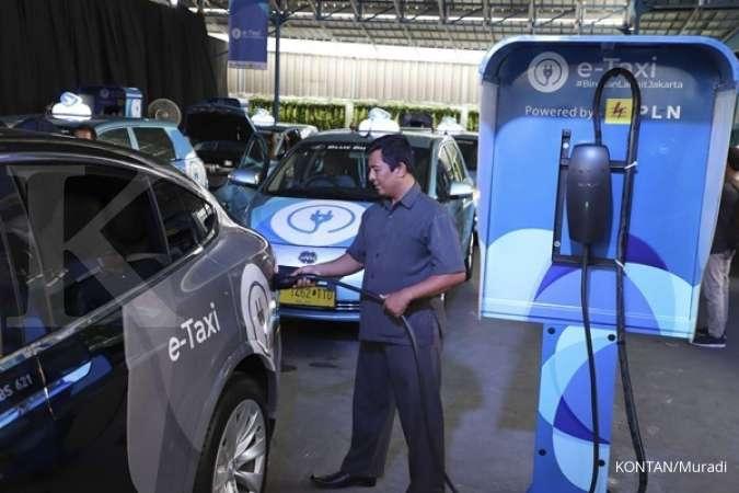 Blue Bird tunggu kesiapan infrastruktur sebelum tambah jumlah armada taksi listrik