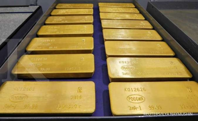 Gold drops for 4th session as improved risk appetite weighs