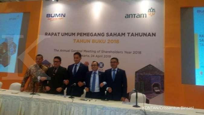 Aneka Tambang Tbk (ANTM) jajaki rencana akuisisi 20% saham Vale Indonesia (INCO)