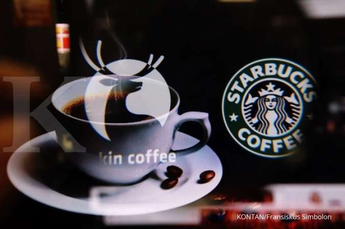 Luckin Coffe siap salip pasar Starbucks di China