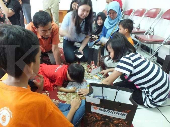 Hankook Tire Indonesia Tunjukkan Kepedulian bagi Pendidikan Anak Yatim di Hardiknas