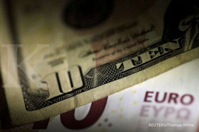 Rilis data ekonomi Jerman bantu euro menekuk dolar AS