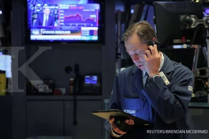 Wall Street menguat ditopang optimisme Walmart dan Cisco