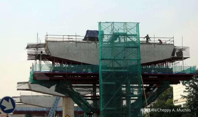 ADHI Adhi Karya: Progres proyek LRT Jabodebek sudah 62,6%