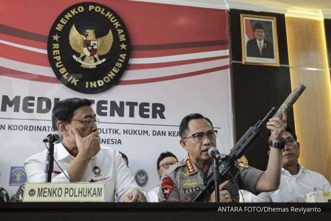 Kapolri: Wiranto, Luhut, Budi Gunawan, dan Gories Mere jadi target pembunuhan