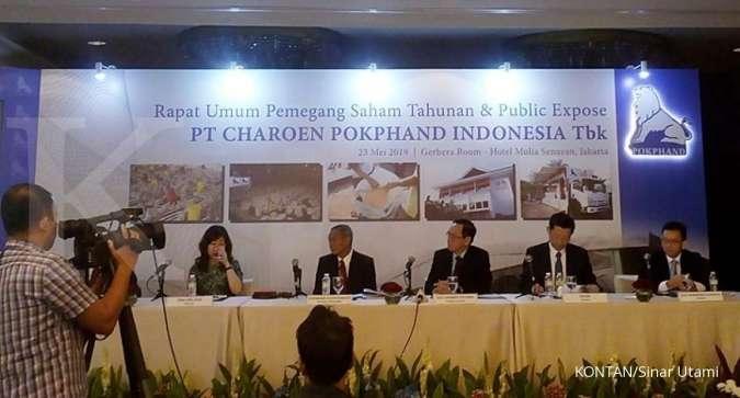 Charoen Pokphand (CPIN) bagi dividen Rp 118 per lembar saham, dibayar bulan depan
