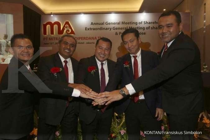 Mitrabara Adiperdana (MBAP) targetkan produksi batubara 4 juta ton di 2020