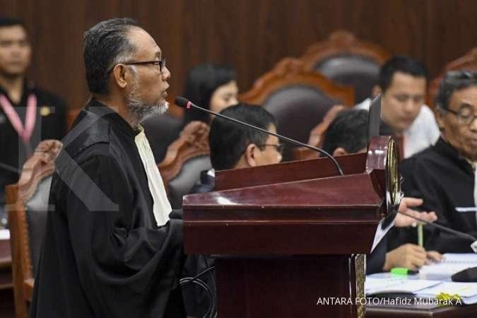 Tim hukum 02: KPU tak mampu jawab pelanggaran UU Pemilu oleh Ma'ruf Amin