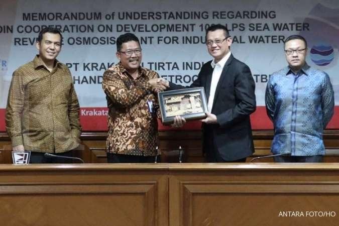 Gandeng Chandra Asri (TPIA), Krakatau Steel (KRAS) Olah Air Laut