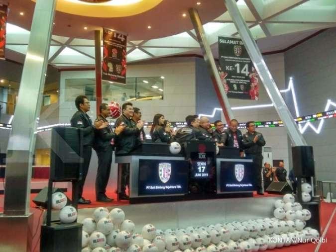 Banyak peminat, saham Bali United (BOLA) oversubscribed 110 kali