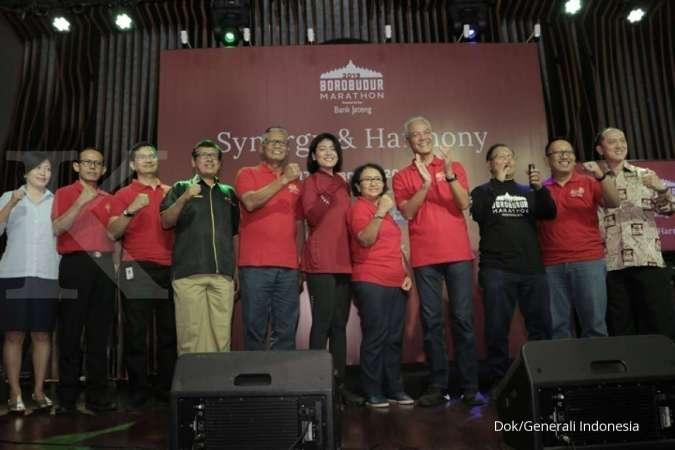Generali Kembali Proteksi Pelari Borobudur Marathon