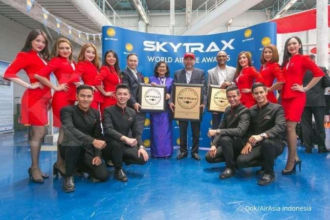 AirAsia Kembali Dinobatkan Sebagai LCC Terbaik Dunia pada Skytrax World Airline Awards 2019