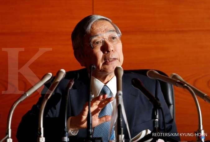 Kuroda says BOJ's easing tools not limited to rate cuts
