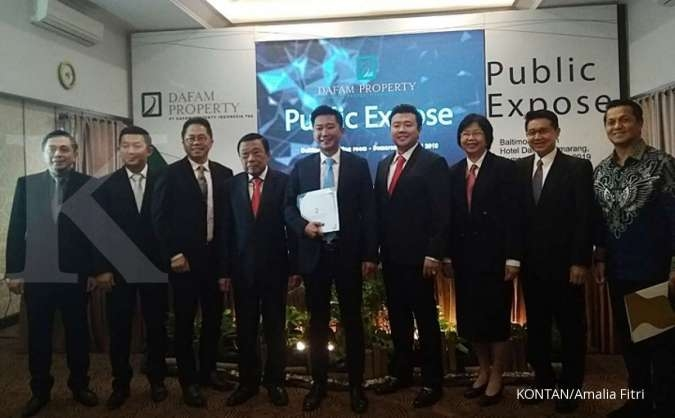 DFAM Dafam Property Indonesia (DFAM) tidak tebar deviden tahun ini