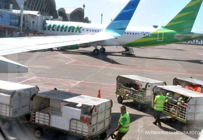 Keterangkutan penumpang turun, analis rekomendasikan buy Garuda Indonesia (GIAA)