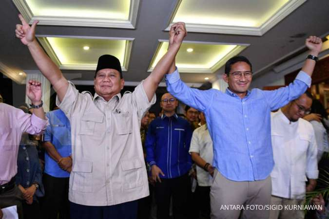 Prabowo Subianto officially dissolved the Indonesia Adil dan Makmur coallition
