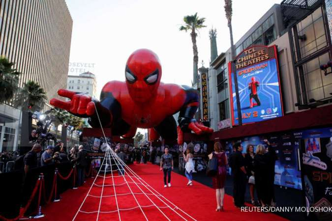 Premier film Spider-man: Far From Home