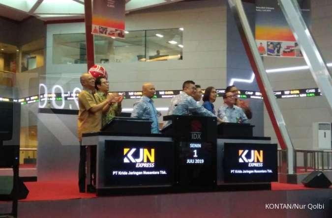 KJEN Naik 600% dalam delapan hari, saham KJN Express (KJEN) kena suspensi