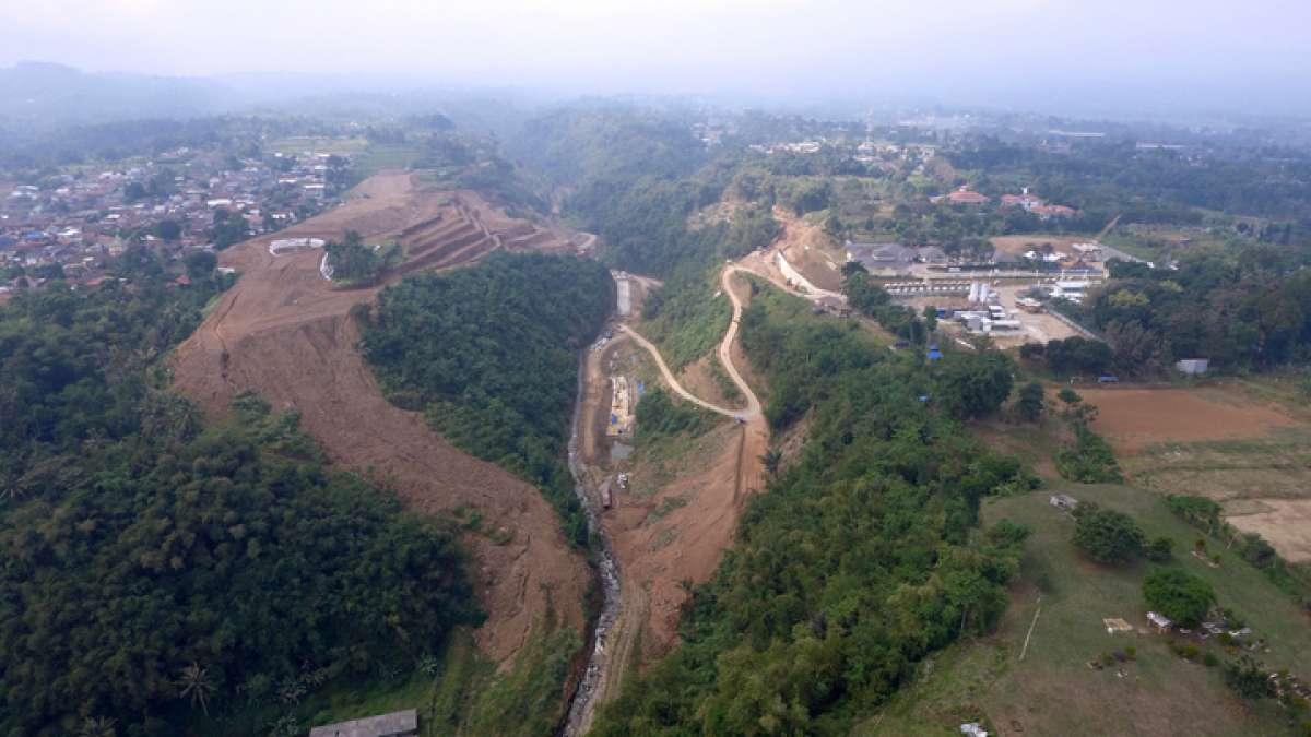Pembangunan Bendungan Sukamahi