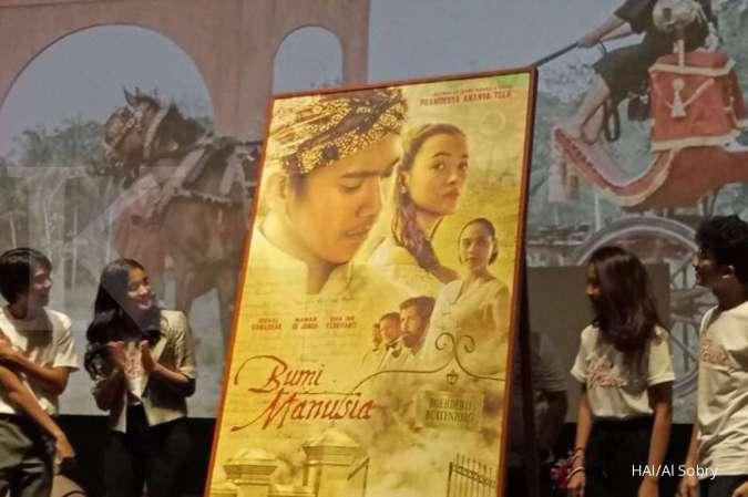 Peluncuran poster film Bumi Manusia