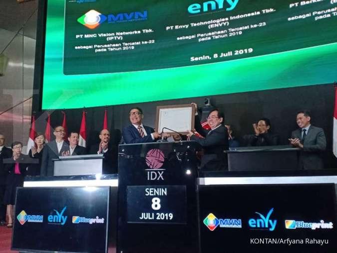 Lirik emiten yang baru melantai, analis ini sarankan saham IPTV dan FUJI