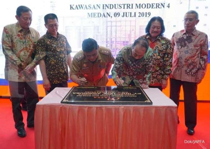 JAPFA Resmikan Pabrik Pakan Ternak Baru di Medan