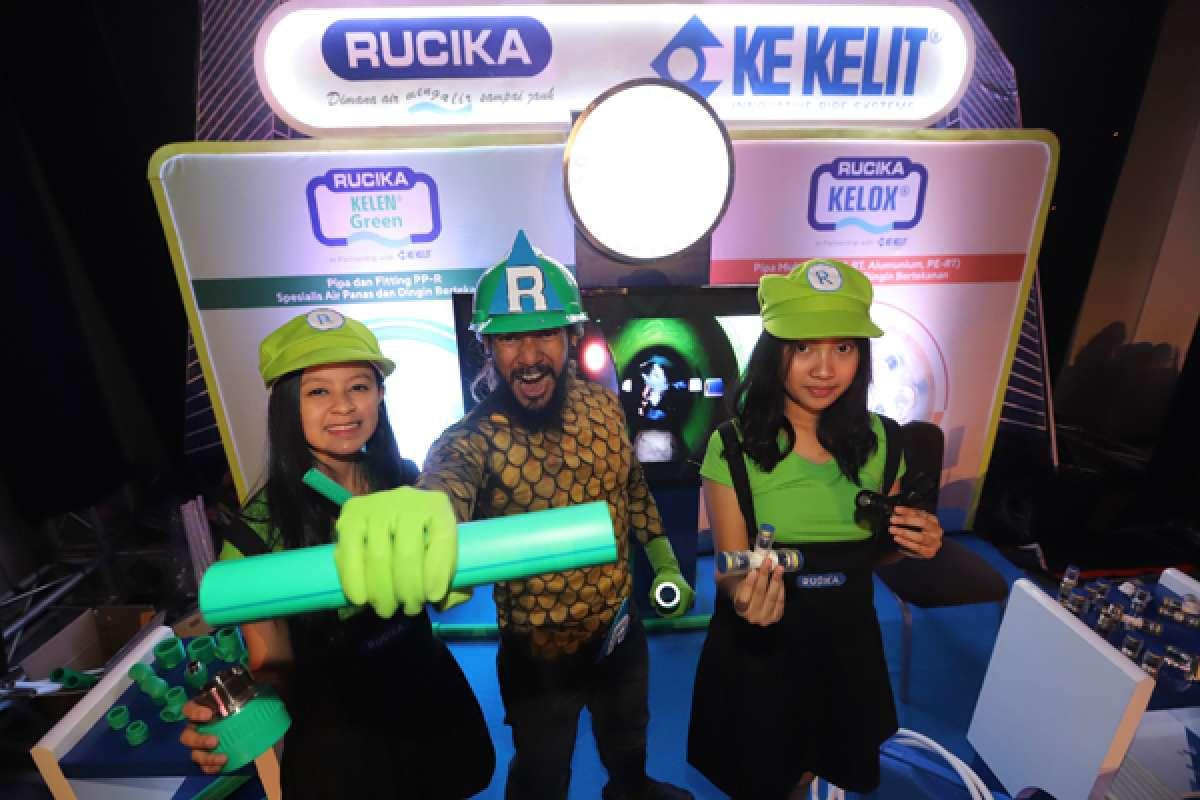 Peluncuran produk pipa air Rucika