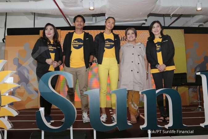 Sambut Generasi Produktif 2030,Sun Life Indonesia Usung Kampanye Kesehatan #Livehealthierlives