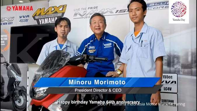 Rayakan Ulang Tahun Yamaha, Motor Yamaha Masuk Ancol Gratis