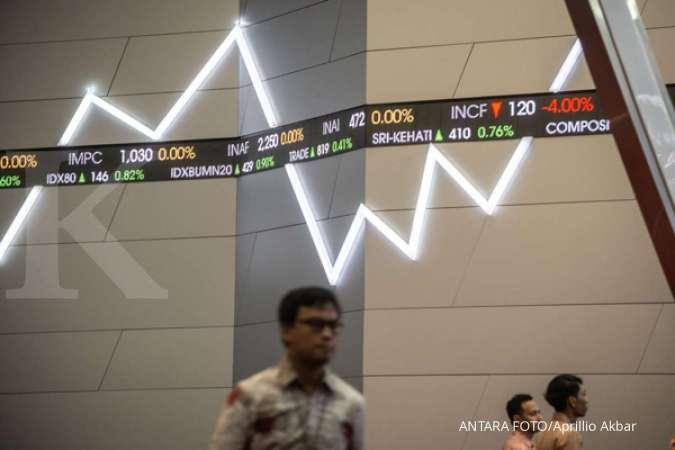 WSBP Tiga saham yang terdepak dari indeks LQ45 semakin melorot di akhir perdagangan