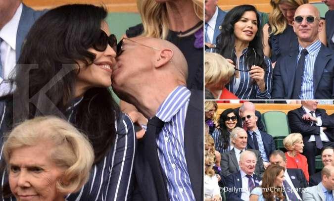 Jeff Bezos dan Lauren Sanchez berpesta di atas kapal superyacht mewah