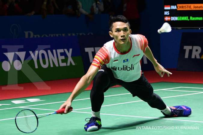 French Open 2019, tiga wakil Indonesia lolos ke babak final
