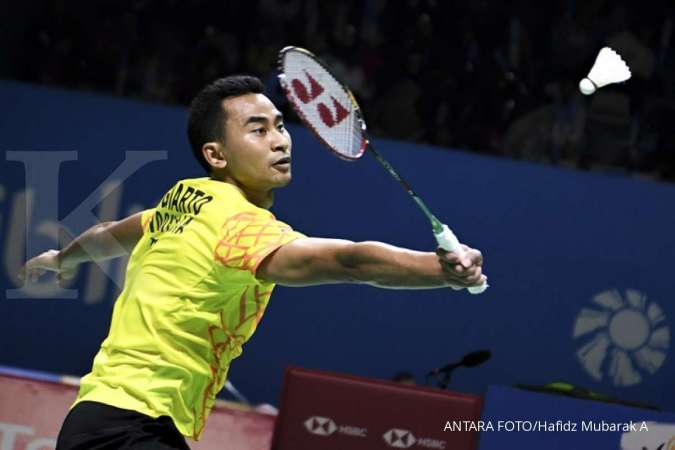 Denmark Open 2019, Tommy Sugiarto akan all out menghadapi Kento Momota