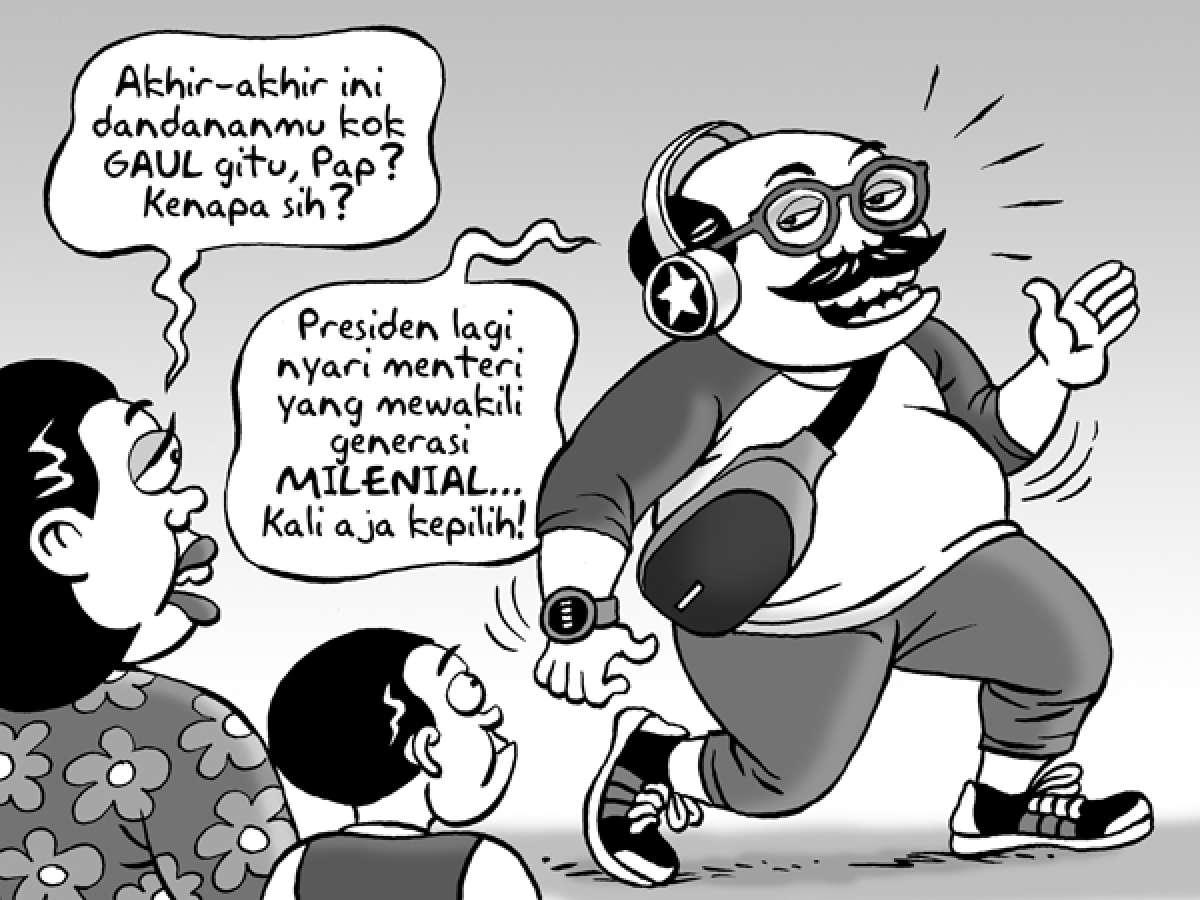 Benny Rachmadi - Mencari Menteri MIlenial
