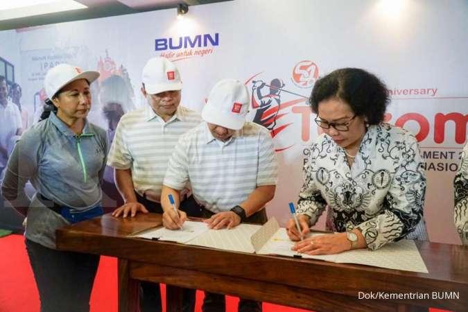 Menteri Rini Dorong Telkom Perluas Digital Learning di Indonesia